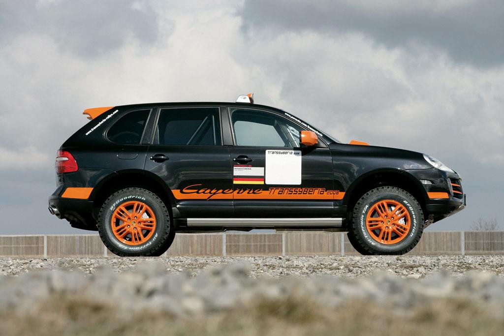 Porsche Cayenne S Transsyberia für 2008 überarbeitet