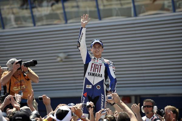 Rennen MotoGP: Lorenzos erster Sieg