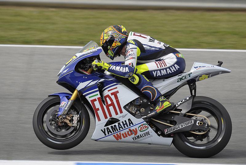 Rossi trauert um Reihe eins: Die Elektronik wollte nicht