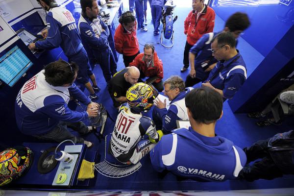 Rossi und die Bridgestones: Keine Reue