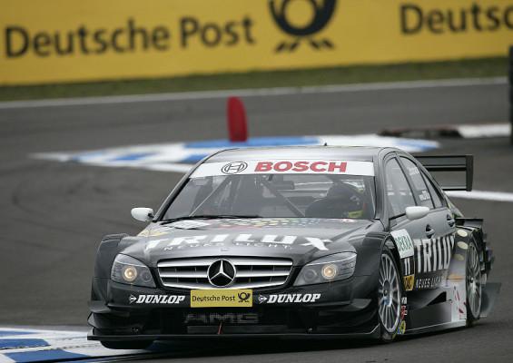 Schumachers zweiter Anlauf: Am Steuer des Mercedes-Karts