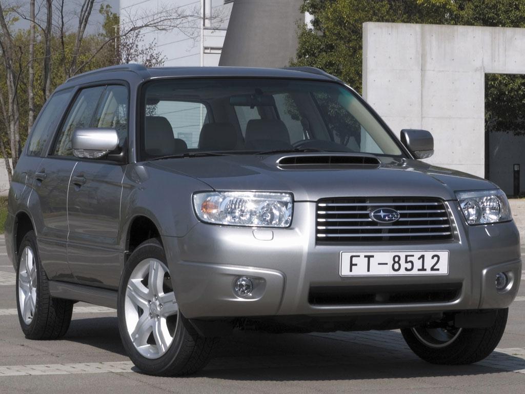Subaru auf der Auto Mobil International 2008