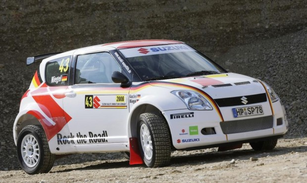 Suzuki mit Rallye-Junior Team Germany erstmals international