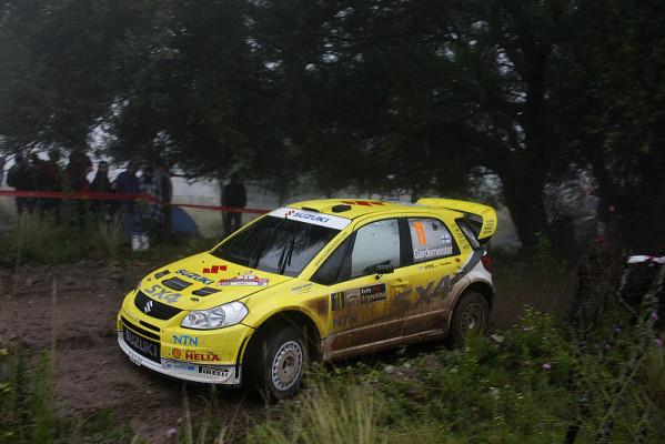 Suzuki nach Argentinien: Einen Punkt mitgenommen