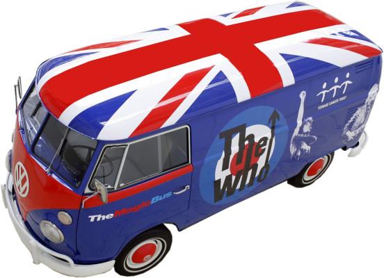 """Volkswagen T 1 mit Autogrammen von """"The Who"""" zu gewinnen"""