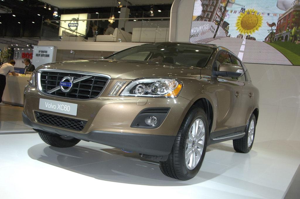 Volvo XC 60 mit automatischem Bremssystem