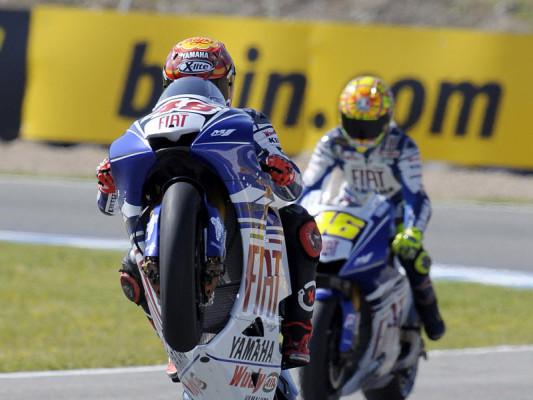 Warm-up MotoGP: Lorenzo bleibt am Drücker