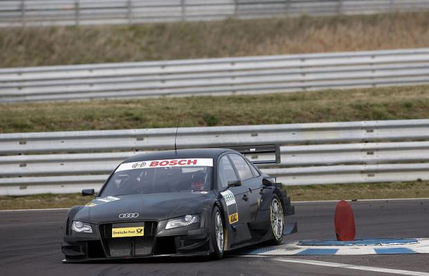 Winkelhock im Audi-Testträger: Ausflug in die Gegenwart
