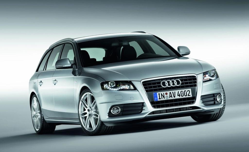 """S line""-Sportpakete für Audi A4 und A4 Avant"