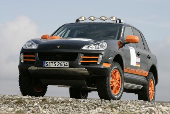 19 Porsche-Teams trainieren für Transsyberia Rallye 2008