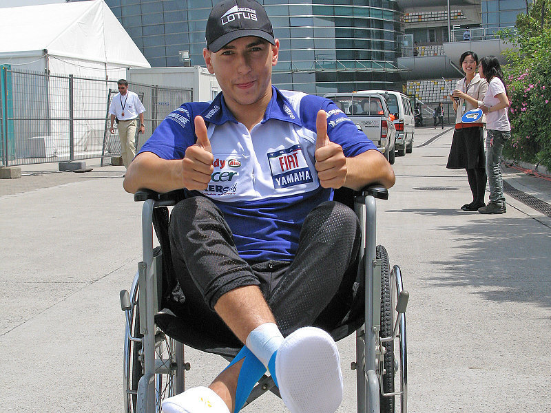 Auch Lorenzos rechter Knöchel gebrochen: Neue Diagnose und Bangen um Le Mans