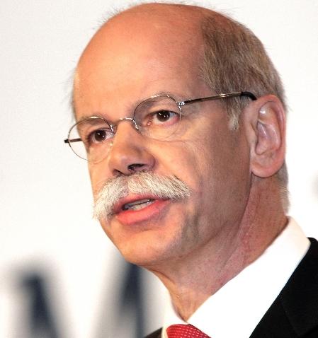 Daimler- und Mercedes-Benz-Chef Zetsche: Wir bekommen das emissionfreie Auto