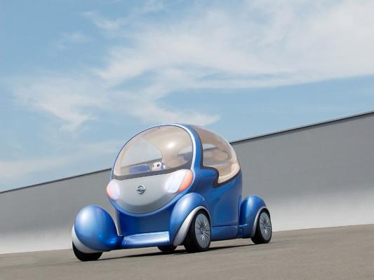 Elektroauto-Studie bei Londoner Umwelt-Ausstellung