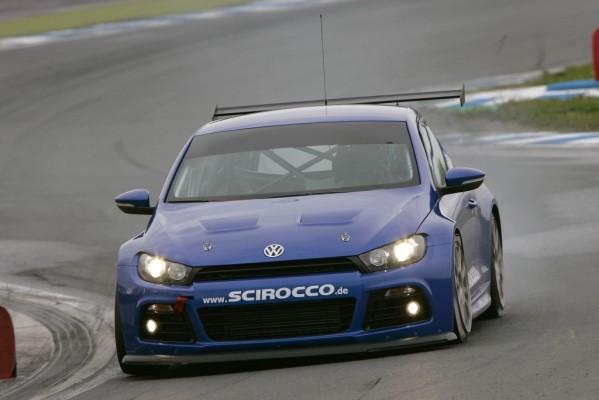 Erster Dauertest für die Rennversion des Volkswagen Scirocco