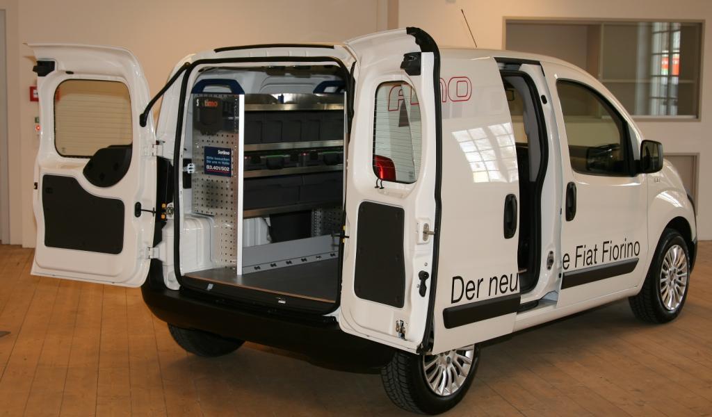 Fiat Professional und Sortimo erweitern Partnerschaft