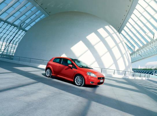 Fiat wertet den Grande Punto auf