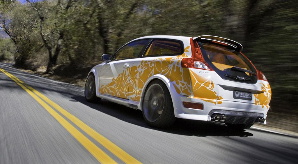 Heico Sportiv entwickelt E85-Rennwagen auf Basis des Volvo C30 T5