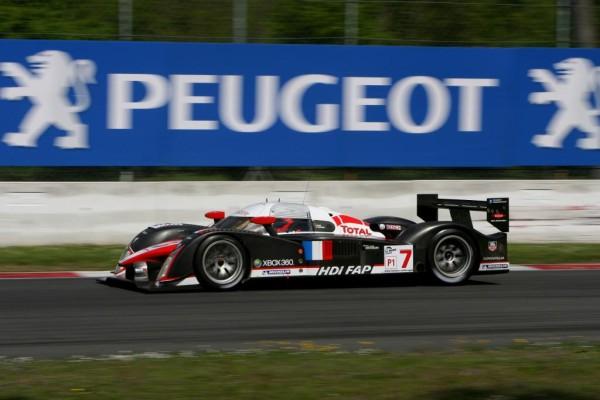 Jacques Villeneuve und Alexander Wurz fahren für Peugeot