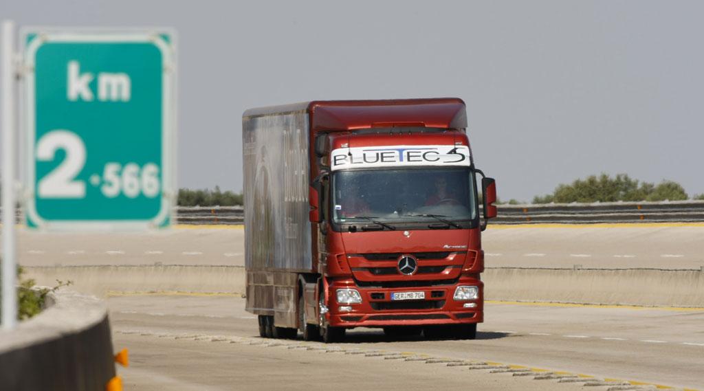 Mercedes-Benz Actros fährt ins Guinness-Buch der Rekorde