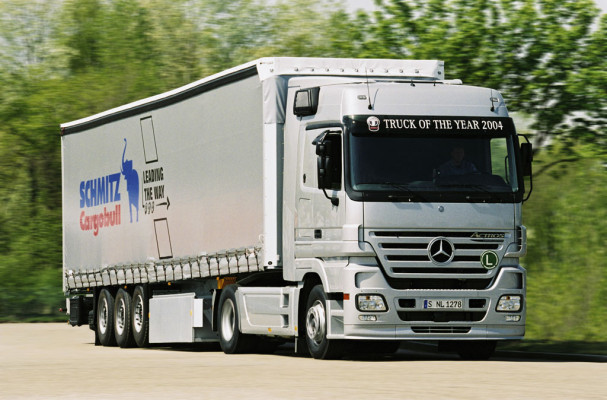 Mercedes-Benz Actros on Tour