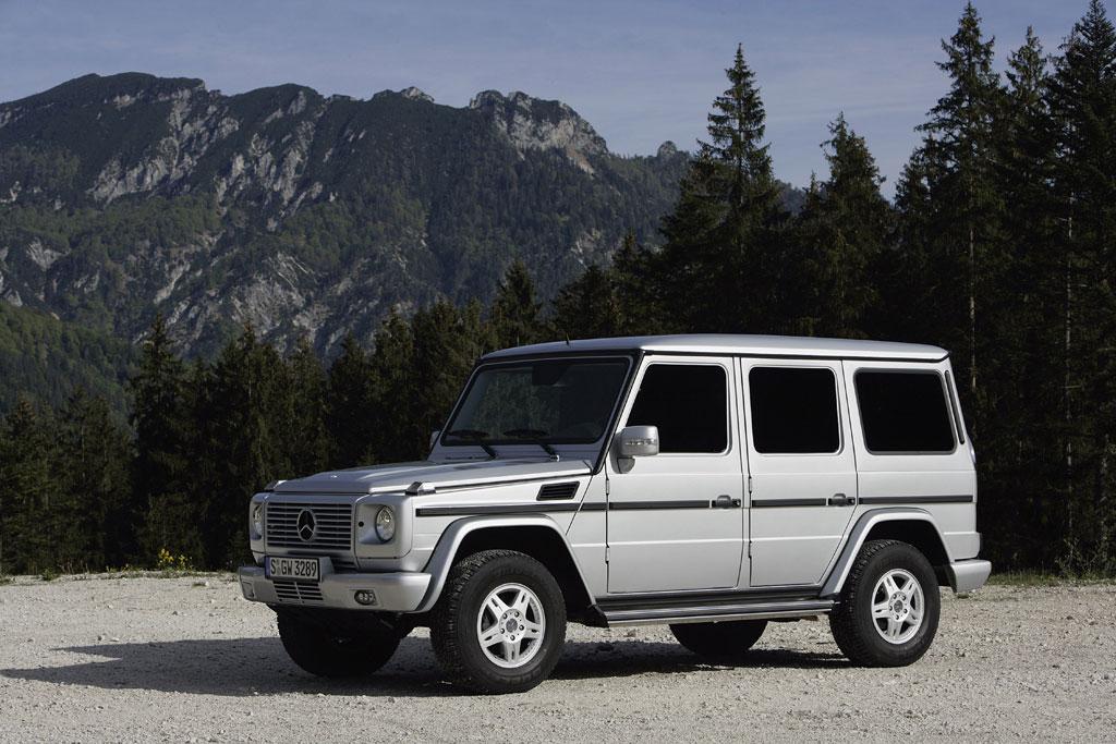 Mercedes G-Klasse sanft modernisiert