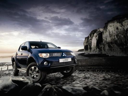 Mitsubishi Pick-up als Sondermodell