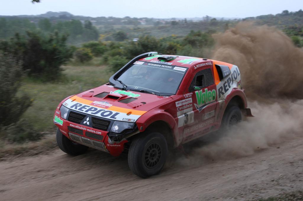 Mitsubishi gewinnt Transiberico-Rallye