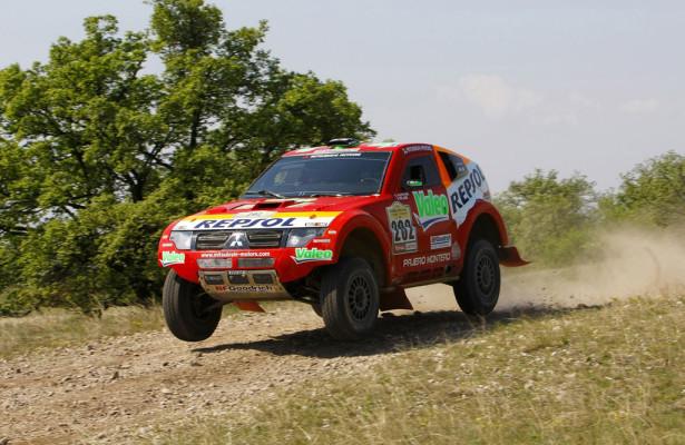 Mitsubishi startet bei Rallye Transiberico