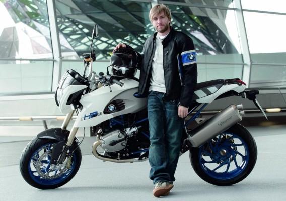 Nick Heidfeld bekommt BMW HP2 Megamoto