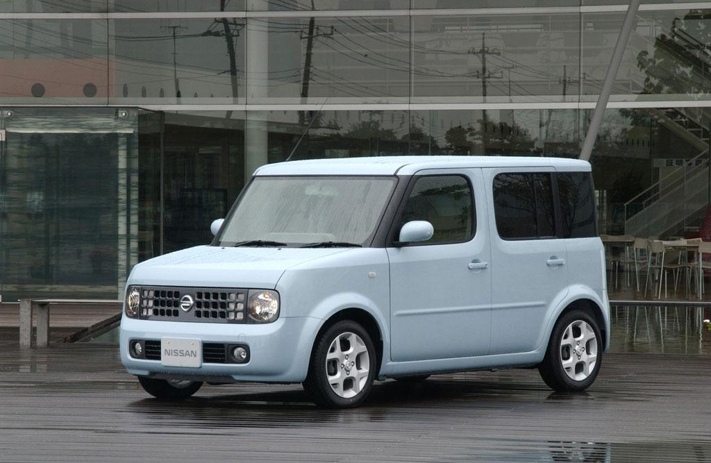 Nissan Cube auf dem Weg nach Europa