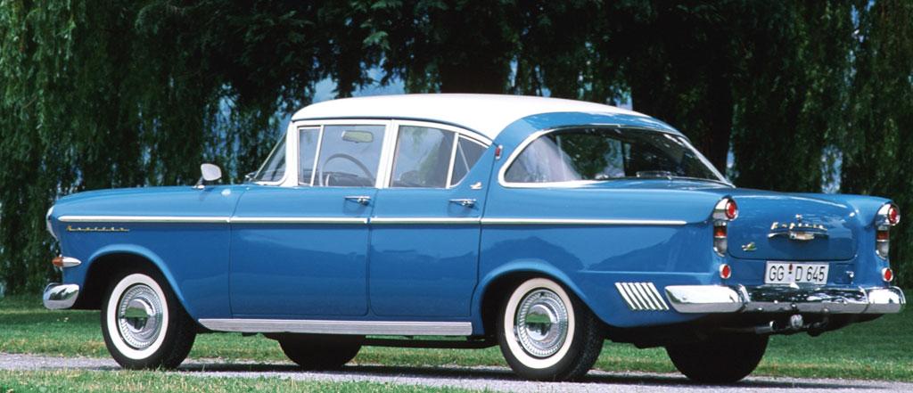 """Opel """"Schlüsselloch""""-Kapitän – vom Topmodell zum Liebhaberstück"""