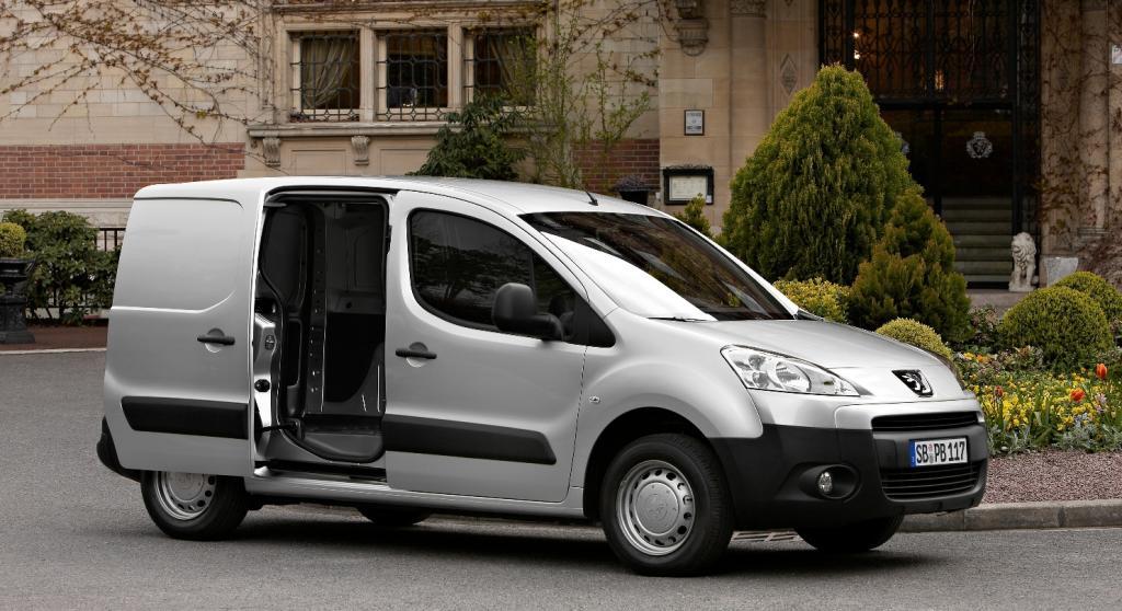 Peugeot Partner hat Premiere