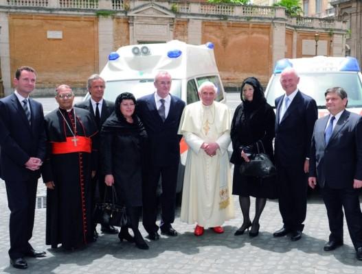 Piëch und Winterkorn beim Papst