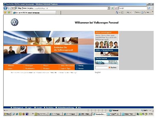 Studie bescheinigt Volkswagen vorbildliches Job-Portal
