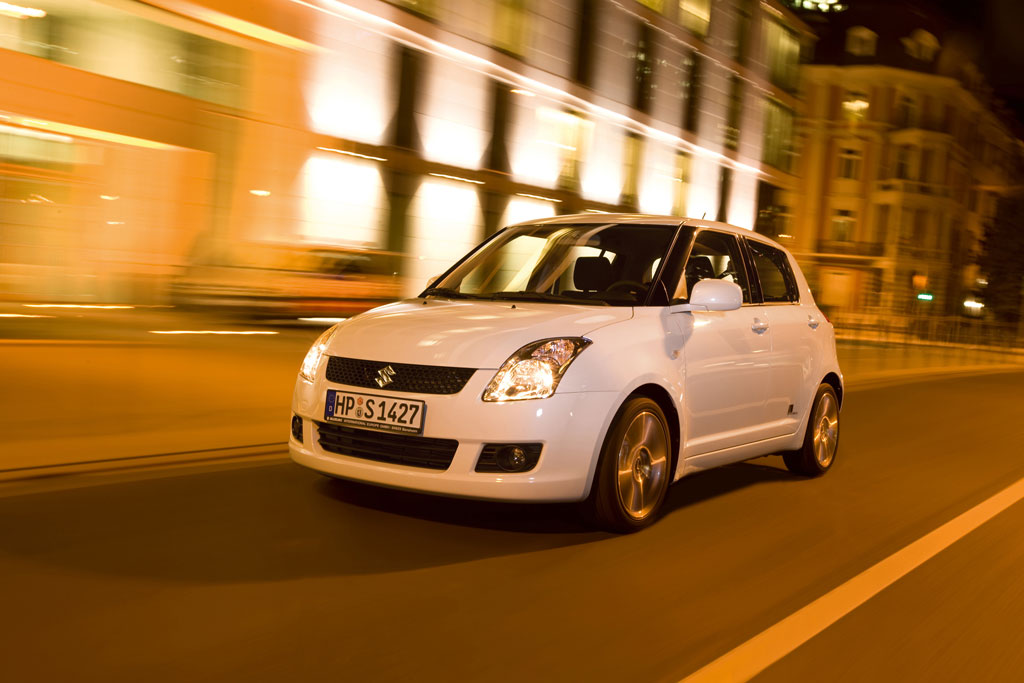 "Suzuki Swift als Sondermodell ""Black and White"""