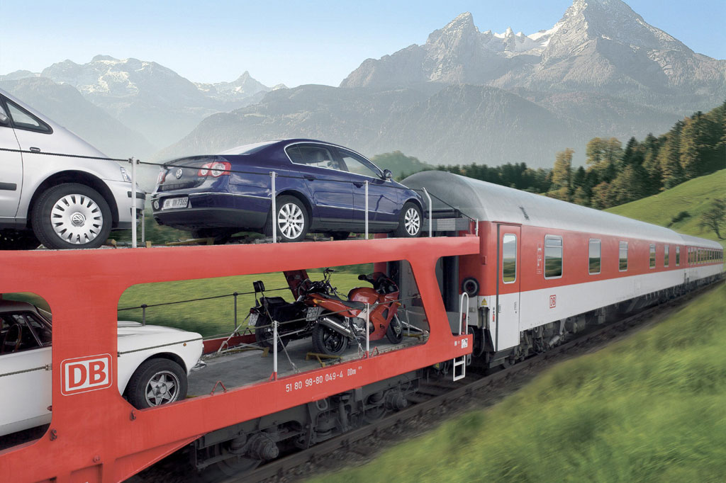 Unterwegs mit dem Autozug - Mobiler Urlaub