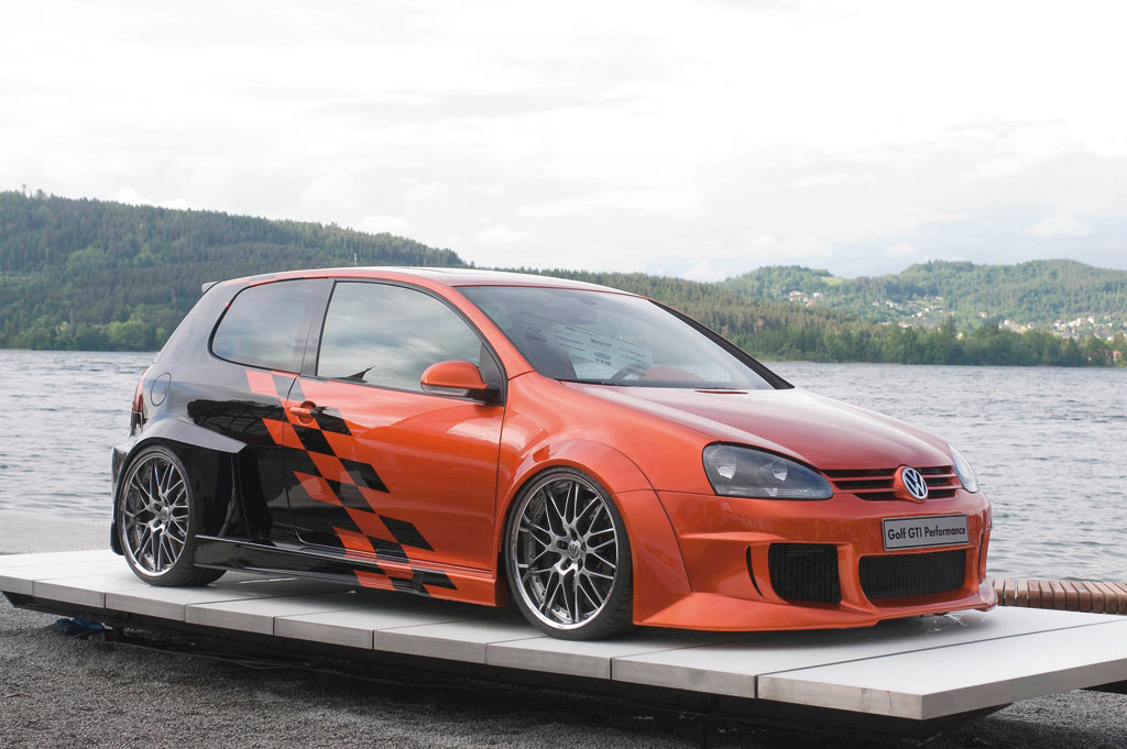 VW Golf GTi Performance Studie
