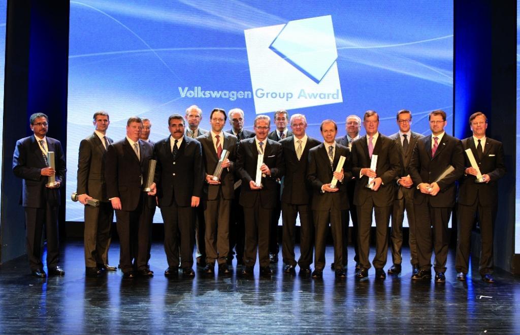 Volkswagen-Konzern zeichnet die besten Lieferanten aus