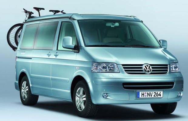 Volkswagen Nutzfahrzeuge präsentiert California Biker