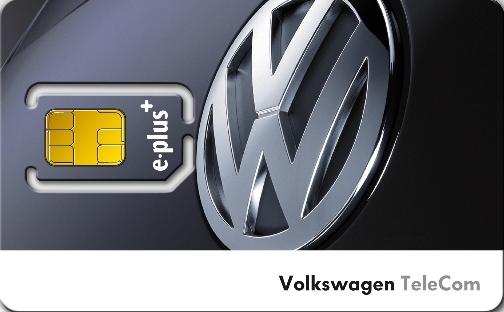 Volkswagen Zubehör startet neues Mobilfunkangebot