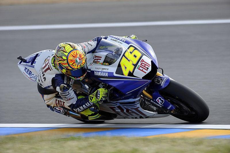 Yamaha nach dem Regentag ermutigt: Für die Fans hätte es besser sein können