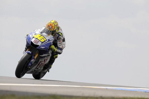 Zweiter Testtag in Le Mans: Viel Platz für Rossi