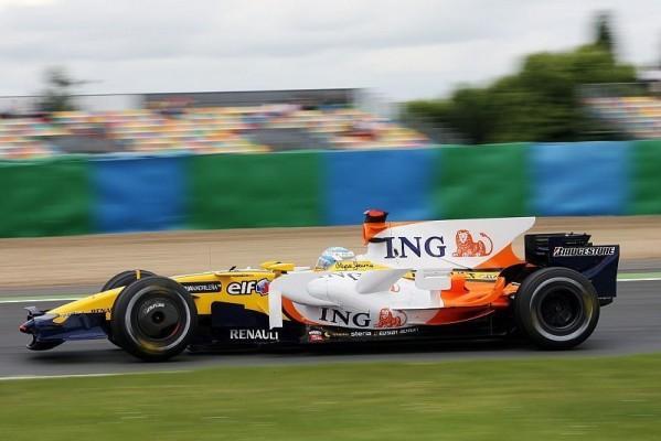 2. Training: Alonso fährt Bestzeit