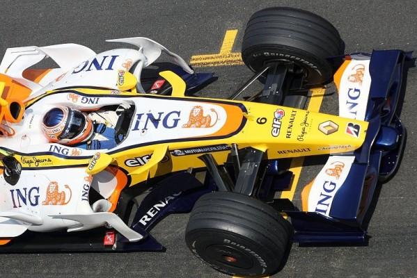 3. Training, Piquet holt Bestzeit: Ungewöhnliche Reihenfolge