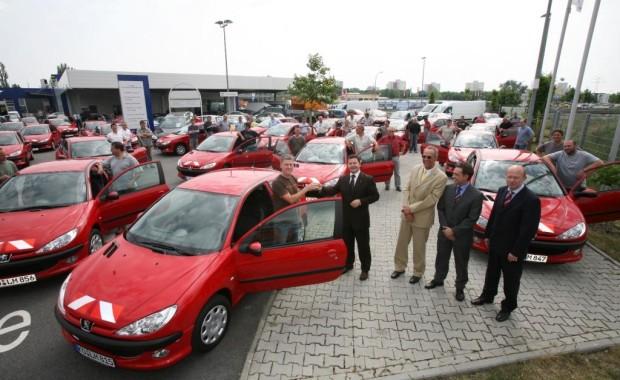 64 Peugeot 206 für Landesbetrieb Mobilität RP