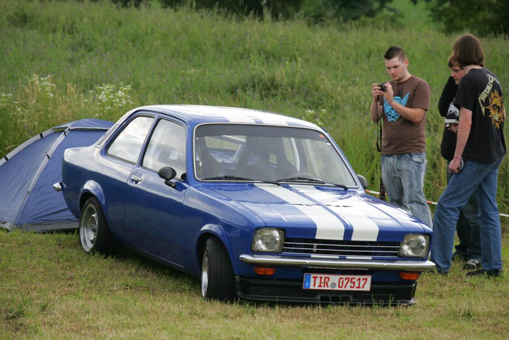 9. Donau Opeltreffen der Opel Freunde Saal vom 14. Juni 08