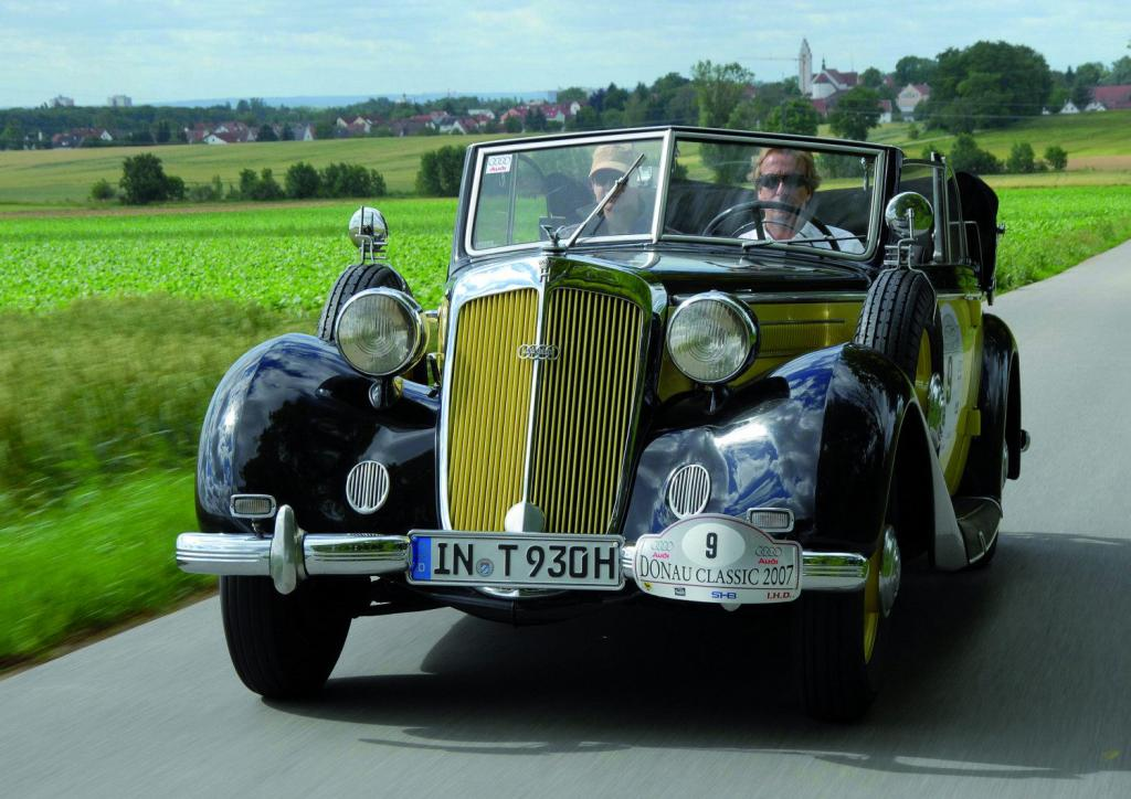Audi-Oldtimer bei