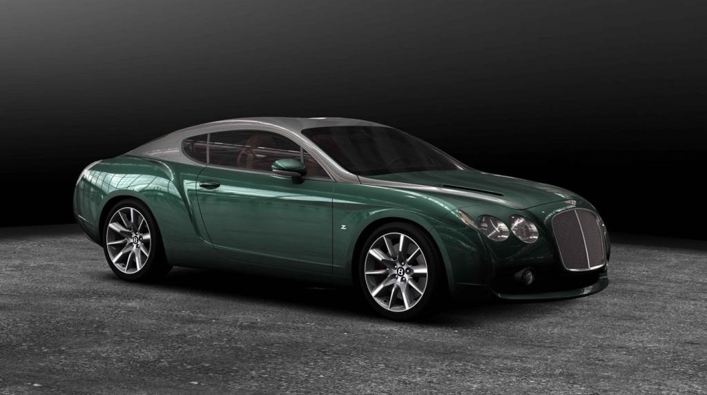 Bentley GTZ: Zagato kultiviert 610 PS