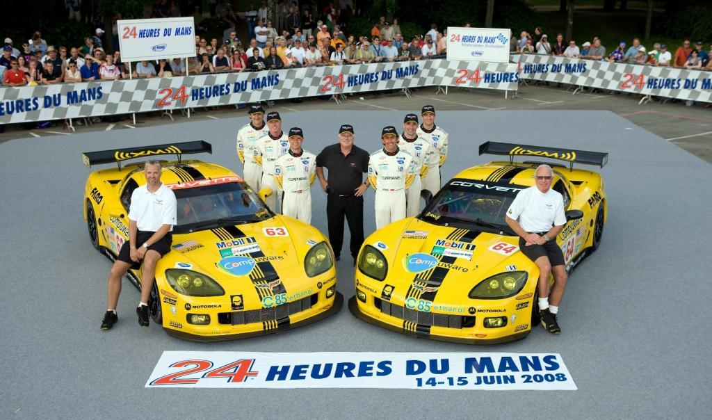 Corvette Racing mit zwei Autos in Le Mans am Start