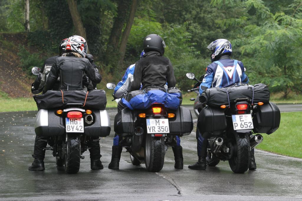 Das richtige Beladen der Maschine - Motorrad-Urlaub (Teil 2)